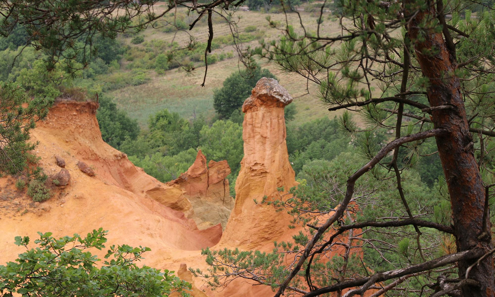Rustrel - Le Colorado Provençal