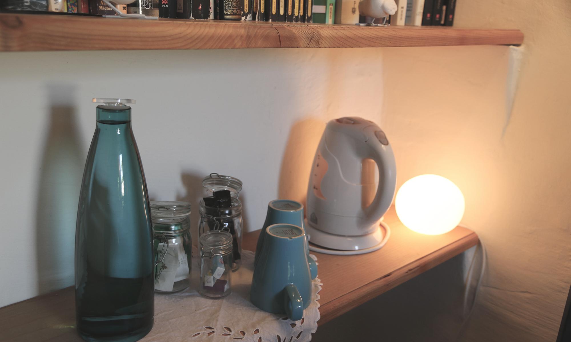 Thé et café à disposition