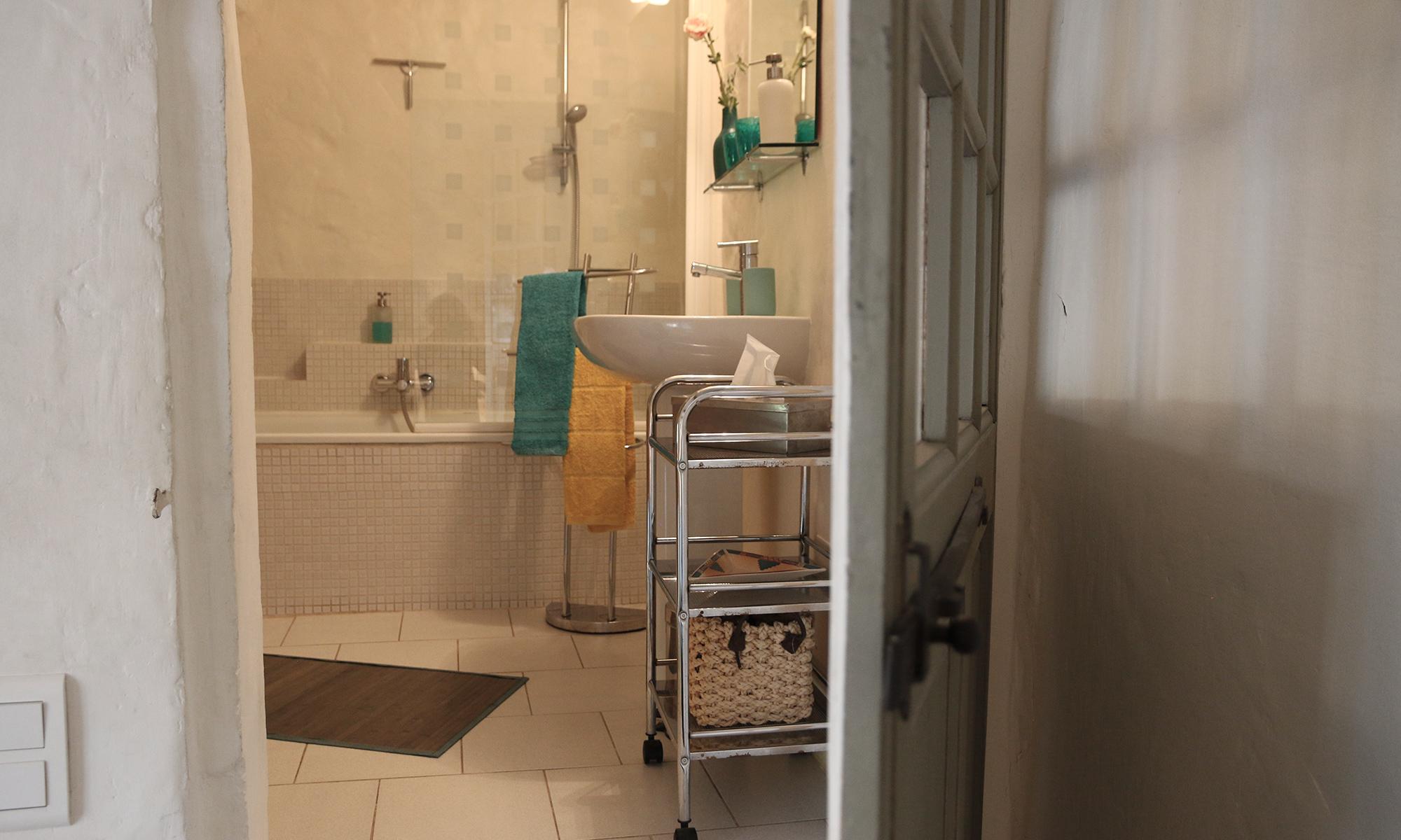 Accés salle de bain